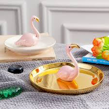 ceramic dish ring holder images Komorebi ceramic flamingo ring holder dish jewelry organizer jpg