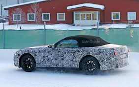 convertible toyota supra new bmw z5 toyota supra replacement caught on spy video