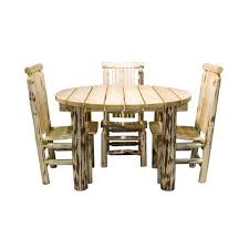 Outdoor Patio Tables Only Unfinished Wood Patio Tables Bellacor