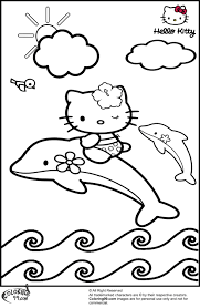 hello kitty coloring pages minister coloring
