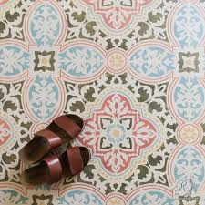 large diy tile stencils for painting walls and floors royal