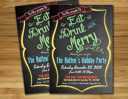 cute idea for christmas party invitations holidays pinterest