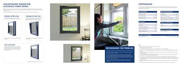 ingenious design for reynaers u0027 new accessible homes window
