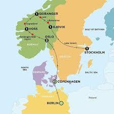 map of europe scandinavia scandinavia contiki berlin or copenhagen stockholm