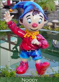 noddy sculpture wholesale garden cartoon sculpture garden