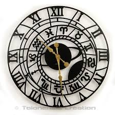 large size clock zodiac u2013 wall clocks delorentis