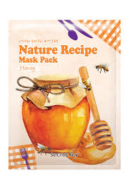 Isaac Mizrahi Sheets Secret Key Nature Recipe Sheet Masks Honey Pack Of 10