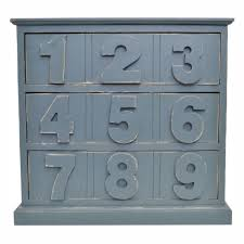 distressed wood cabinet with drawers u0026 bold numbers bold dark grey