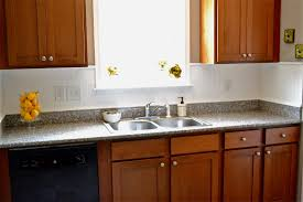 kitchen beadboard backsplash using wallpaper mom 4 real kitchen