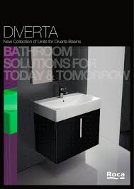 diverta new collection of units for diverta basins roca pdf
