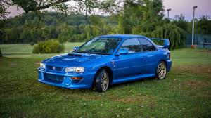 old subaru impreza hatchback a holy grail subaru impreza 22b sti is up for sale