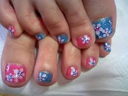 different nail art on each finger nails gallery