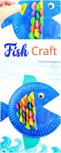 super cute paper plate fish craft for kids natural beach living