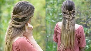 fishtail hack mermaid braid hack cute girls hairstyles youtube