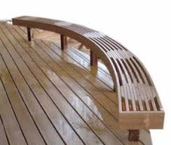composite benches profitable curved benches professional deck builder design