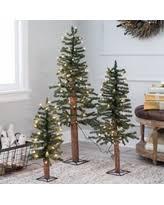 bargains 22 off gerson company flocked alpine pre lit christmas tree