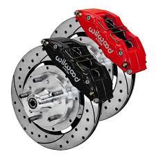 1966 mustang disc brakes wilwood mustang front disc brake dynapro 6 piston 12 19 65 69