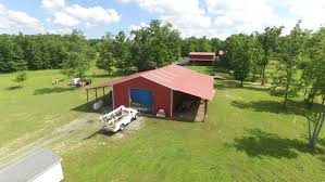 excellent horse property with beautiful log home barn with stalls