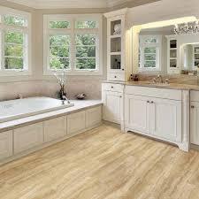 Travertine Bathtub Flooring White Vanity Cabinets With Cozy Bathtub And Exciting