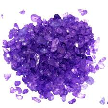 rock candy where to buy purple rock candy crystals grape for cookie pop display