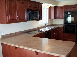 Tile Backsplash Ideas For Cherry Wood Cabinets Home by Window Treatment Cherry Cabinet Kitchens Round Brown Wood Bar