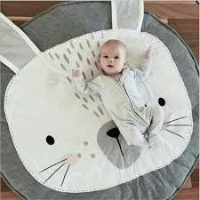 tapis ourson chambre b kawaii bébé tapis de jeu lapin tapis ours panier couverture air