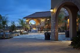 cabanas outdoor living spaces gallery western outdoor design and