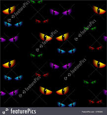 halloween repeating background patterns halloween ghost eyes seamless background vector