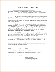 sample loan contract sample of noc letter from company
