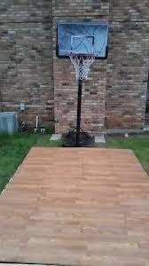 diy pallet basketball court outdoor furniture pallets