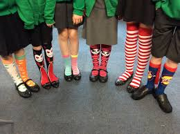 silly sock day euxton primrose hill school