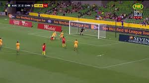 Sensational Videos Kerr U0027s Sensational Double Leads Matildas To Victory Matildas