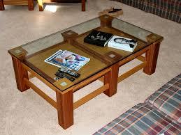 coffee table glass display interior home design
