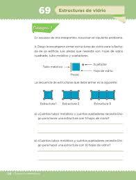libro de matematicas 6 grado sep 2016 2017 estructuras de vidrio bloque iv lección 69 apoyo primaria