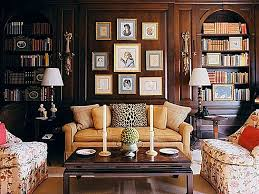 traditional home interiors living rooms living room traditional style decor book shelves study