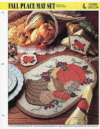 thanksgiving plastic canvas designs books collection on ebay