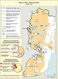 West Bank Map The Marxist Leninist Daily