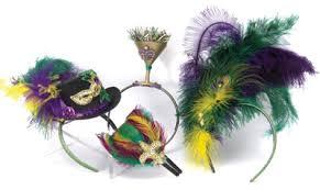 mardi gras headbands mardi gras shopping st charles avenue january 2015 new