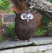 owls to put in trees in the garden different sizes available