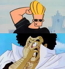 Johnny Bravo Meme - blank reacting to johnny bravo meme by cmara on deviantart