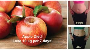 how to lose 10 kg per 7 days with this unbelievable apple diet