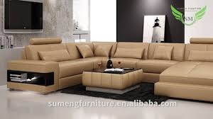 sofa u sumeng modern leather u shape sofa