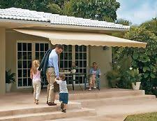 Manual Retractable Awning Awnings U0026 Canopies In Brand Sunsetter Features Retractable Ebay