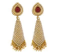 kempu earrings dangle drop earrings pearl designer earrings studs earrings