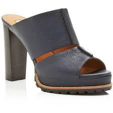 Mule Sandals See By Chloe Ivy High Heel Platform Mule Sandals 2 705 Sek
