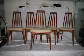 Danish Dining Room Table Set Of Five Danish Modern Dining Room