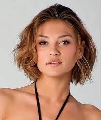 Frisuren Mittellange Haar Wellig by Kurzwellenförmige Frisuren Für Runde Gesichter Was Denken Sie über