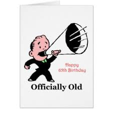 funny 65th birthday cards greeting u0026 photo cards zazzle