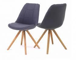 chaises grise lot 2 chaises grises design scandinave douceur