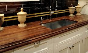 Kitchen Sink Countertop Wooden Kitchen Counters Home Design Interior And Exterior Spirit
